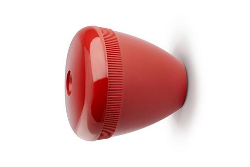 Poignée ronde rouge Bonzini